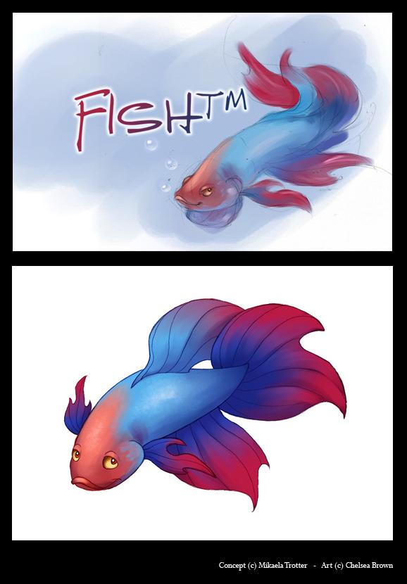 Fish TM Concept by spiritwolf77