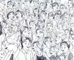 Familiar Faces by spiritwolf77