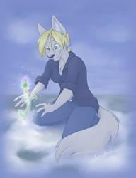 Thistle Spirit by spiritwolf77