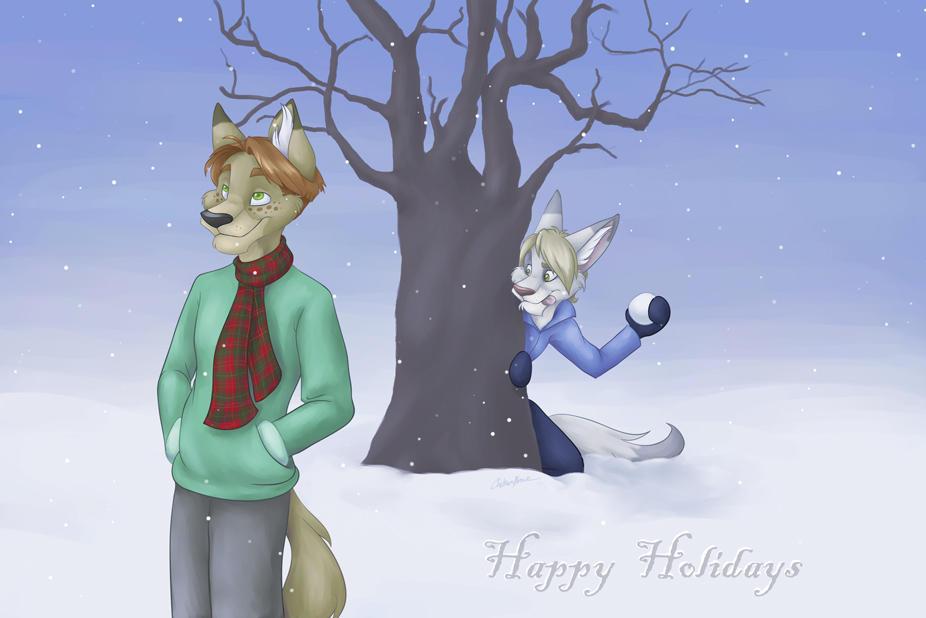 Happy Holidays 2005 by spiritwolf77