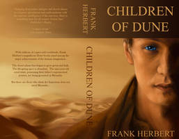Children of Dune Book Cover by spiritwolf77