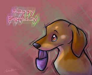 Birthday Sylke by spiritwolf77