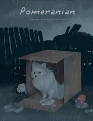 Pomeranian: Cover by spiritwolf77