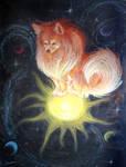 Space Pomeranian