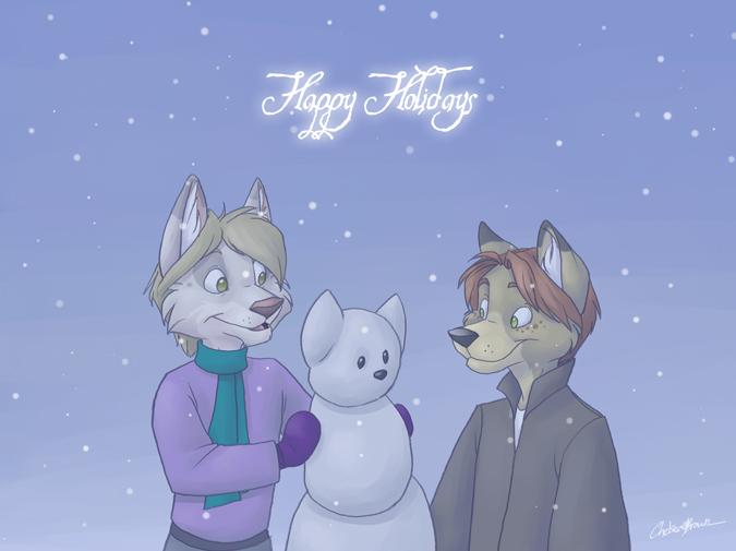 Happy Holidays 06 by spiritwolf77