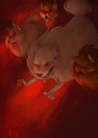 Wrath of the Pomeranian by spiritwolf77