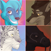 Icon Commissions Batch 4 by spiritwolf77