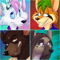 Icon Commissions Batch 5 by spiritwolf77