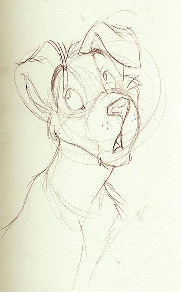 Tamoh - Sketch by spiritwolf77