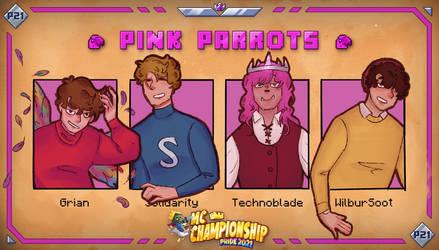 Pink Parrots Winners Pov