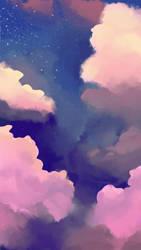 funky clouds wooo
