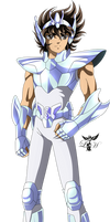 Pegasus Seiya OCE by LadyHeinstein