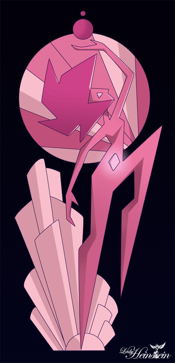Pink Pear Diamond Ring