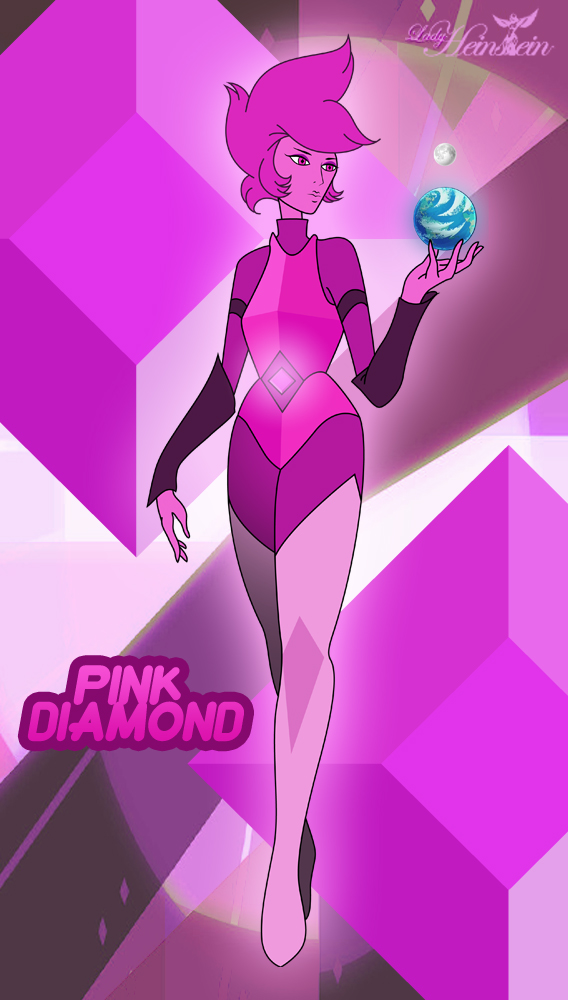 Pink Diamond Mural (Personal Version) by LadyHeinstein on DeviantArt