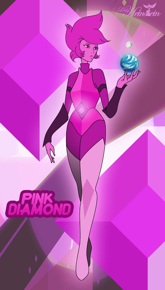 Pink Diamond Mural (Personal Version) by LadyHeinstein on DeviantArt
