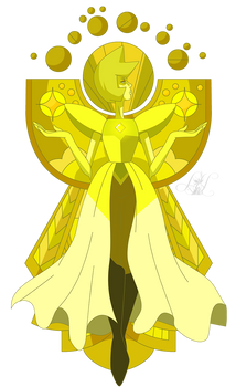 Long Live Yellow Diamond (Render)