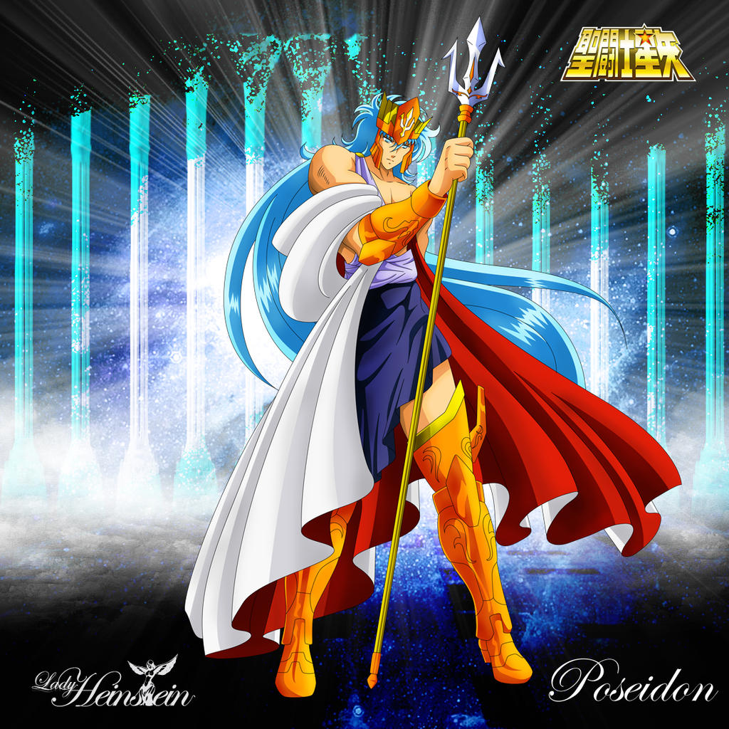 Poseidon (Classic Anime) By LadyHeinstein On DeviantArt