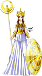 Athena Nike Gold Myth (ND) Render