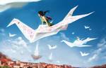 dream on paper wings