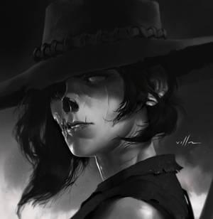 Undead rider portrait 04