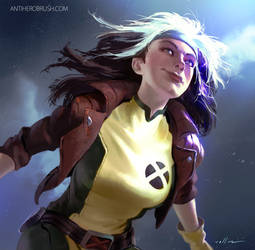 X-men: Rogue (90's version) by zano