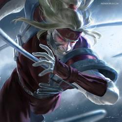 90's X-men: Omega Red by zano