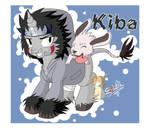 Kiba Unicorn and Akamaru
