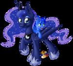 Luna and Jason. CM for HunterBrony101