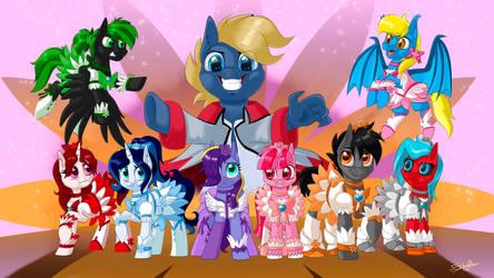 Precure ponies. CM