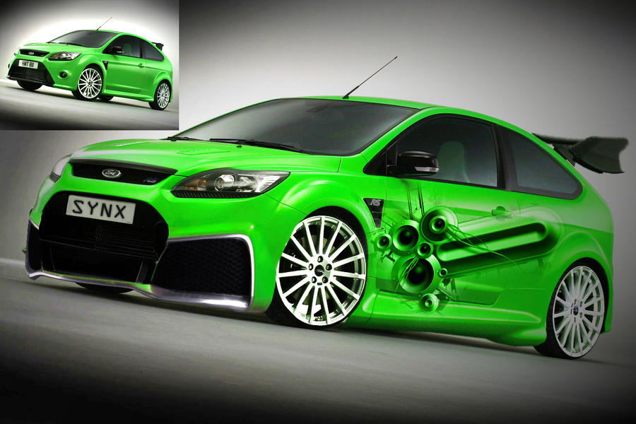 ford focus rs vmod by syncronox on deviantart. Black Bedroom Furniture Sets. Home Design Ideas