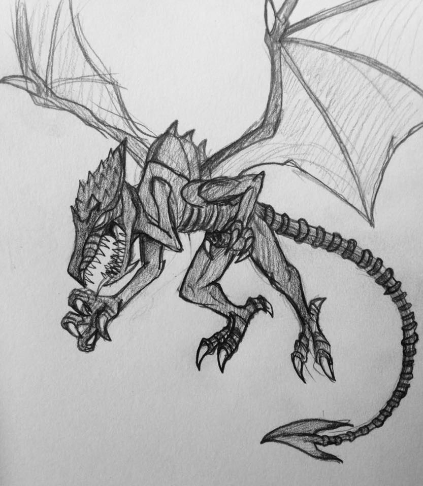 Ridley sketch by lugiamaster
