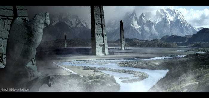 Valley of Towers