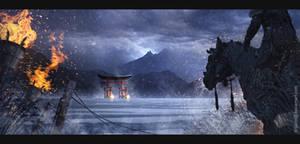 Ichi No Torii by DriPoint