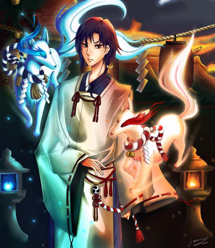 Male Shinto Priest 67