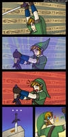 Link can't Master Sword
