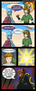 Triforce Favoritism by Lethalityrush