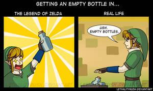 Empty Bottle Reactions
