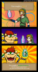Bowser's Inspiration by Lethalityrush