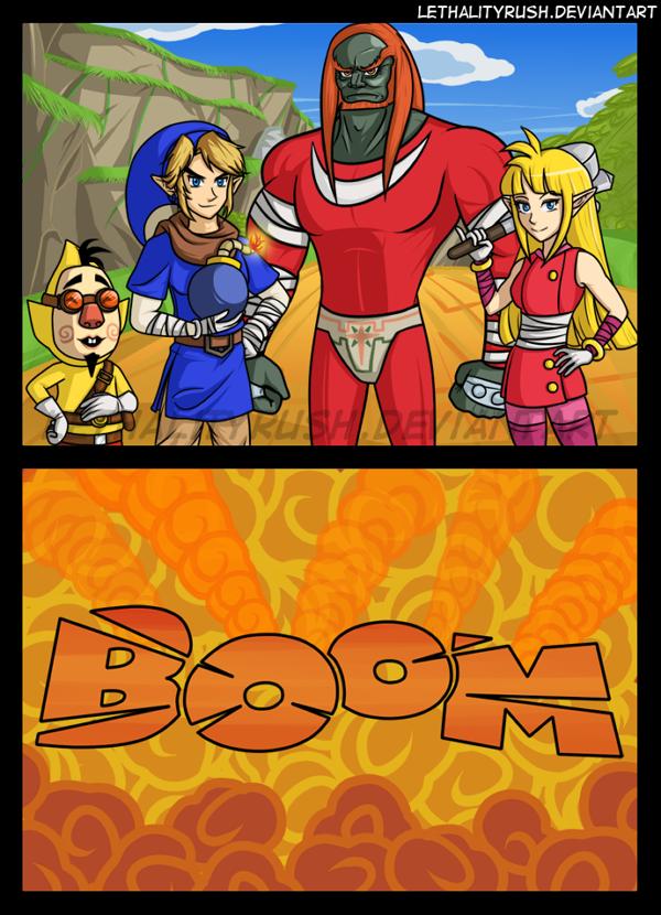 Zelda Boom by Lethalityrush