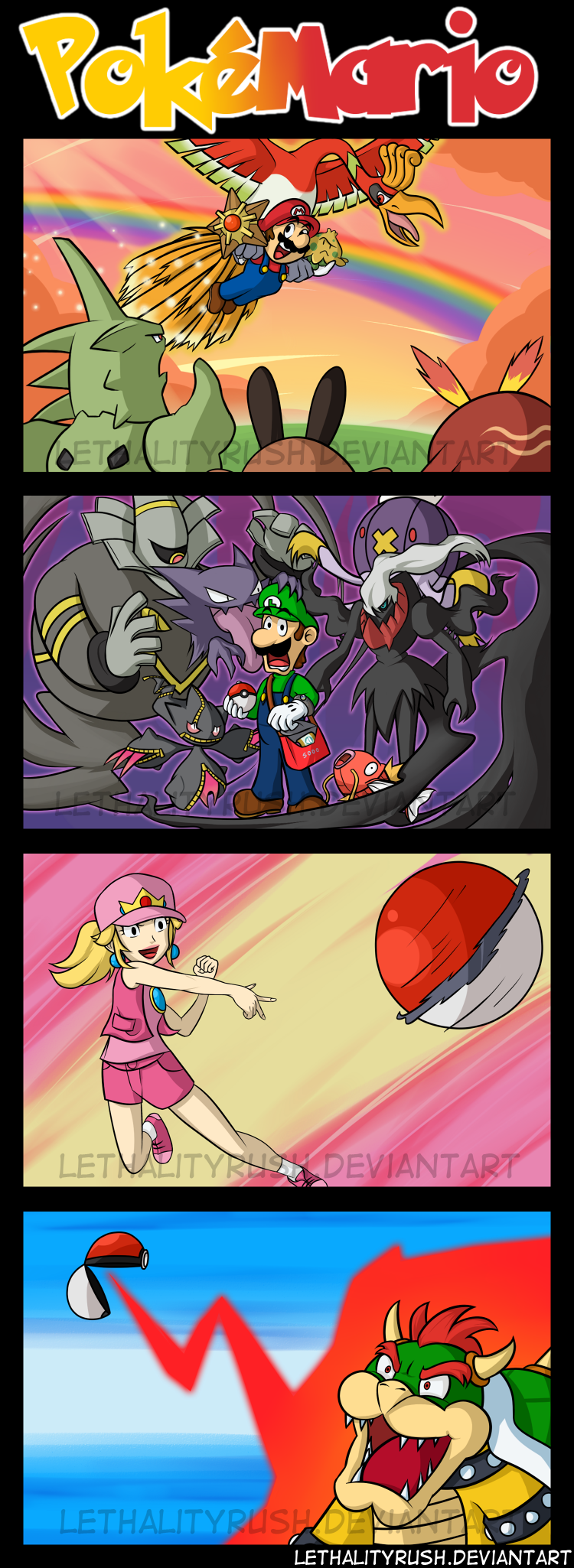 PokeMario by Lethalityrush