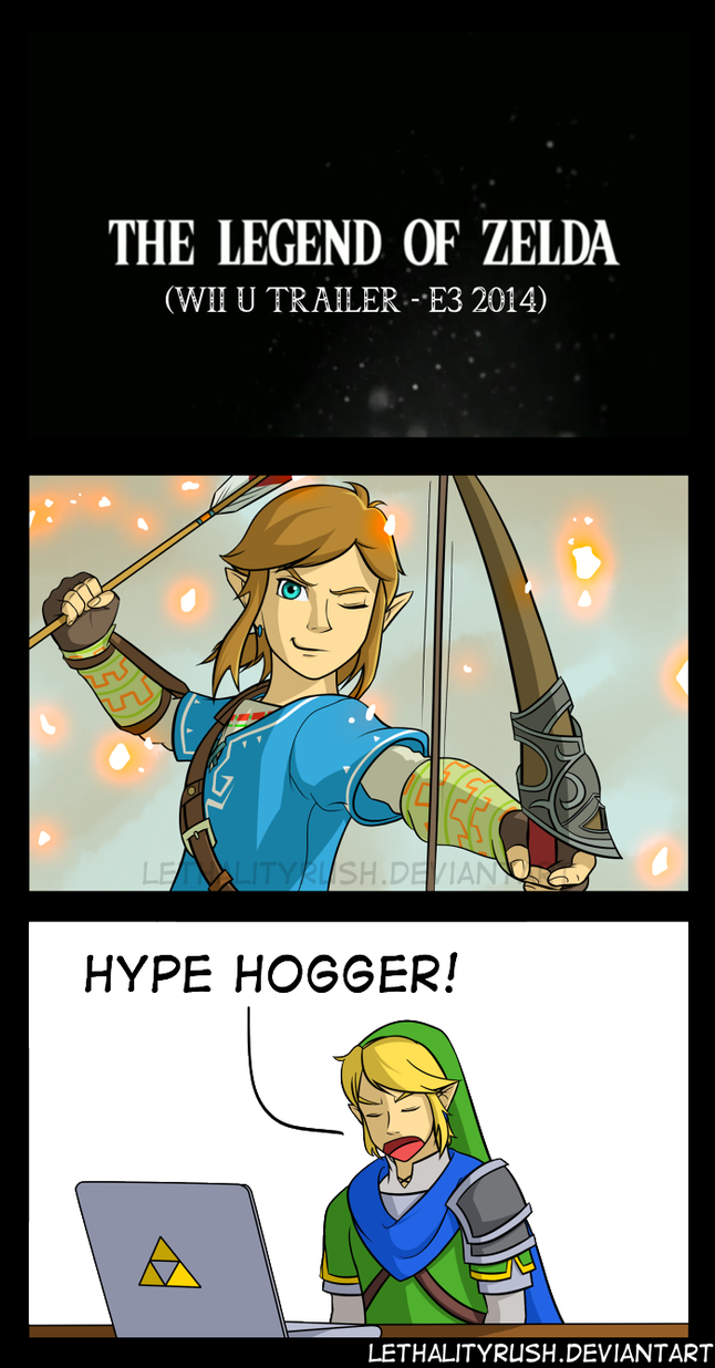 Zelda Wii U by Lethalityrush