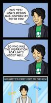 Inspiration for Link's grunts