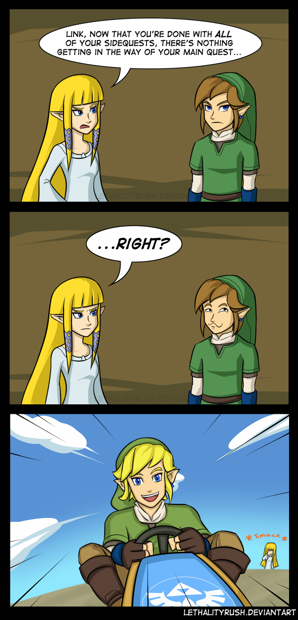 Sidequests by Lethalityrush on DeviantArt