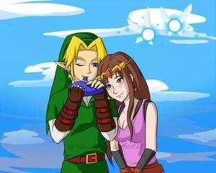 Link-n-Lyra by Lethalityrush