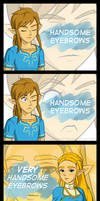 Eyebrows of the Wild [Comic + Dub] by Lethalityrush