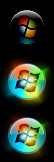 Amped Windows 7 start button by h3llb3nd4