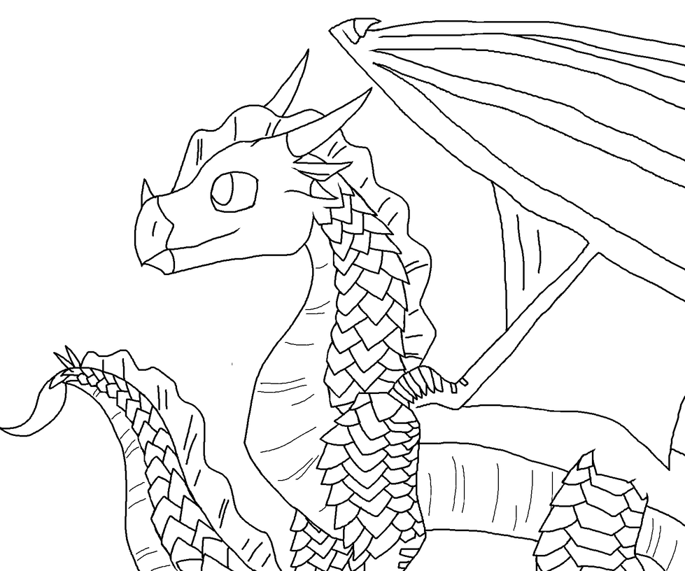 Sandwing Wings Of Fire Coloring Pages Coloring Pages