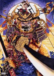 Supportive Samurai by Nami--chan