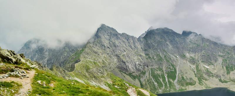 The High Tatra mountains VI