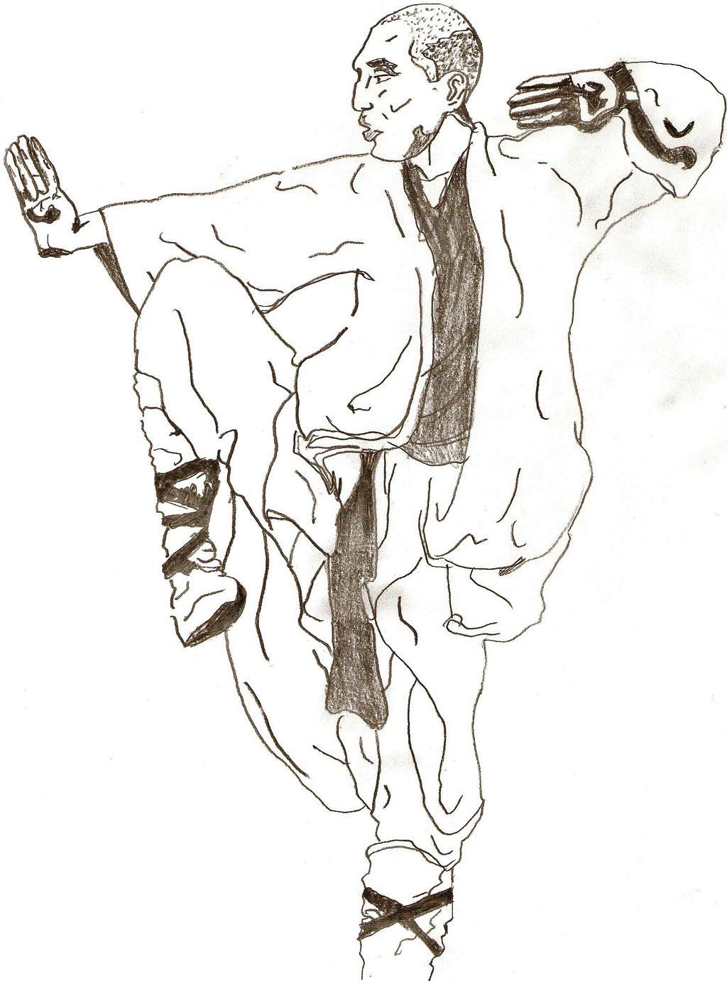 shaolin monk by ocblackwolf on deviantart